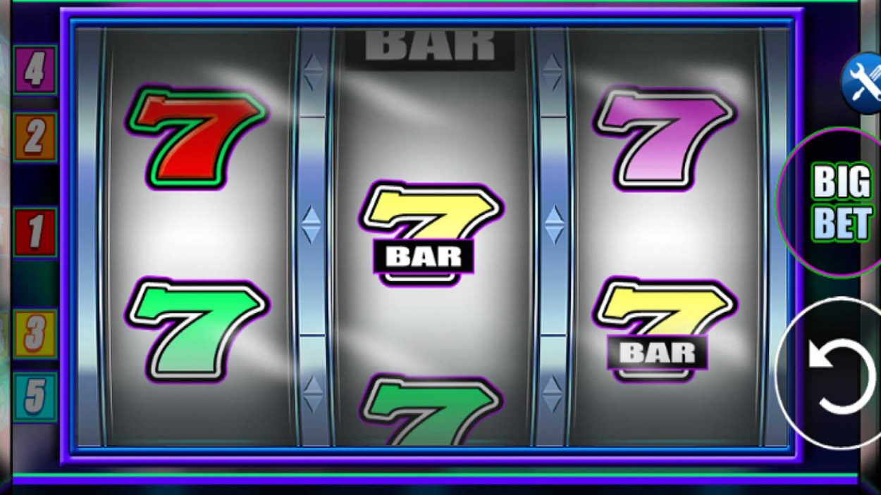 Title screen for Aftershock Slots Game