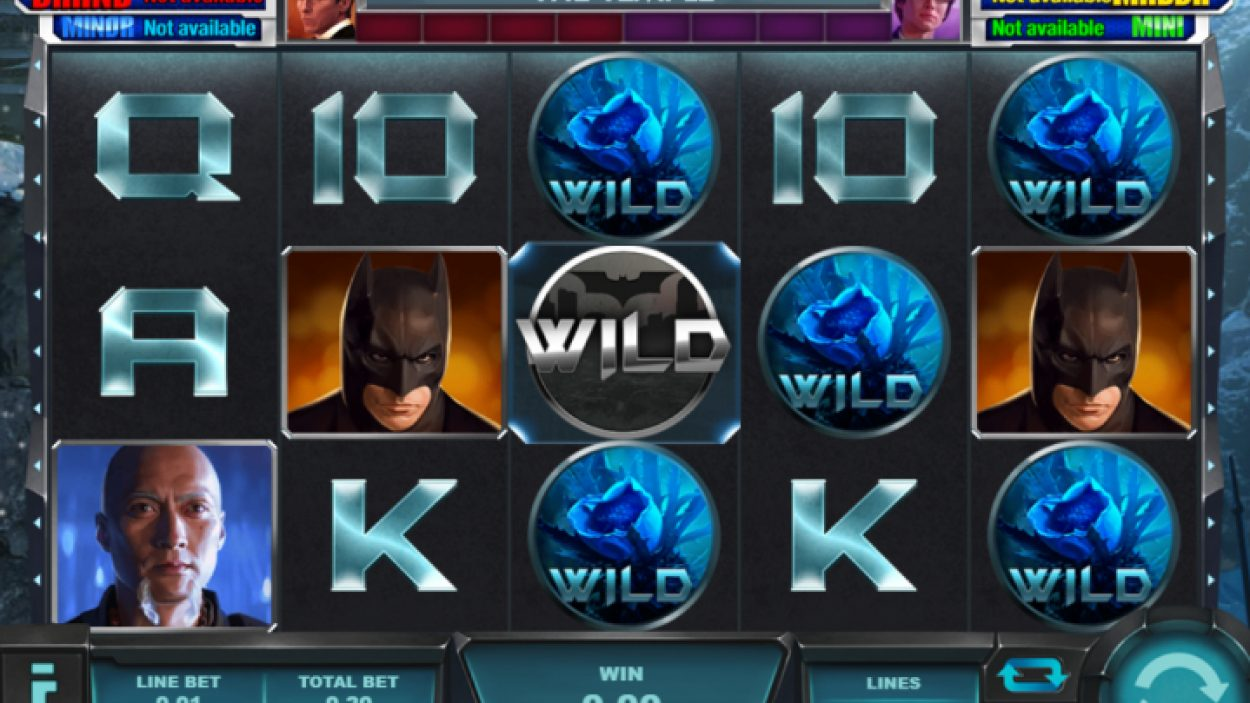 Play Batman Slot Online