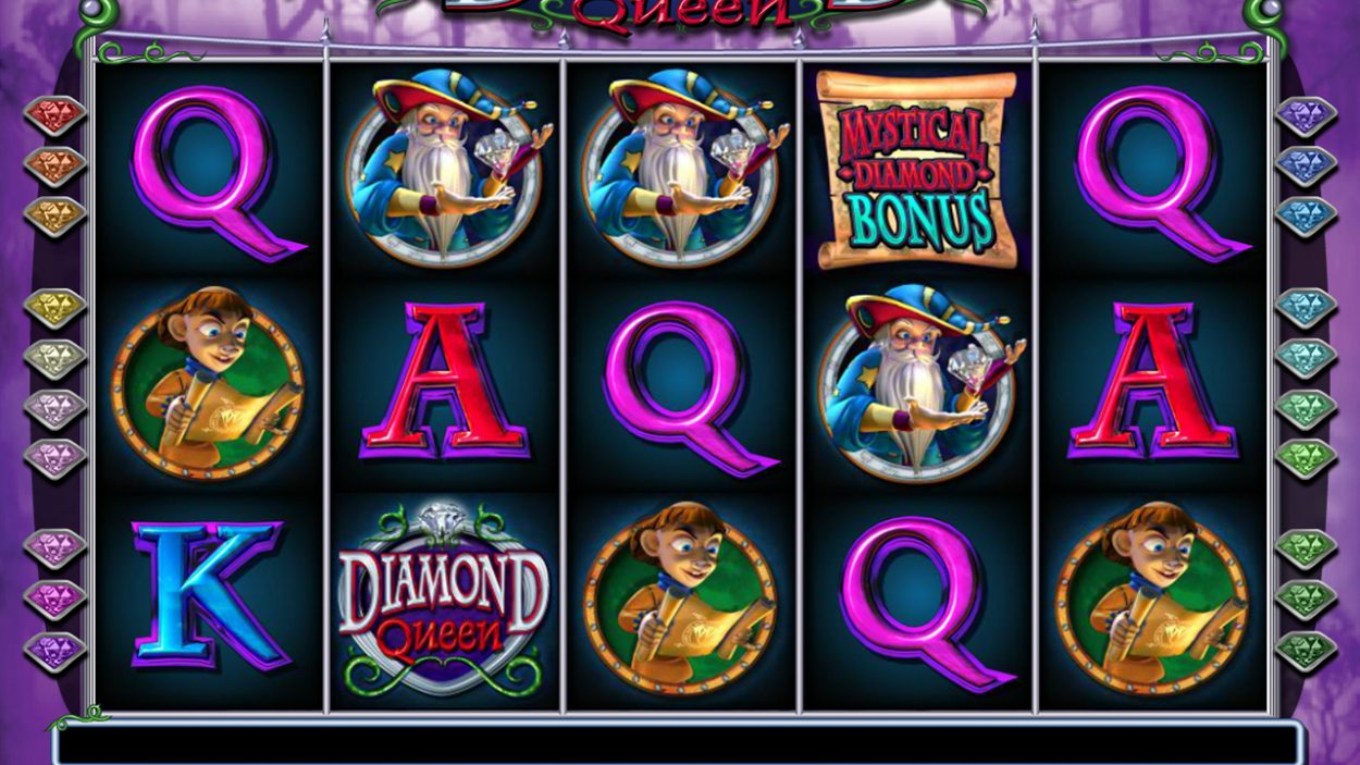 Diamond Queen slot game free demo