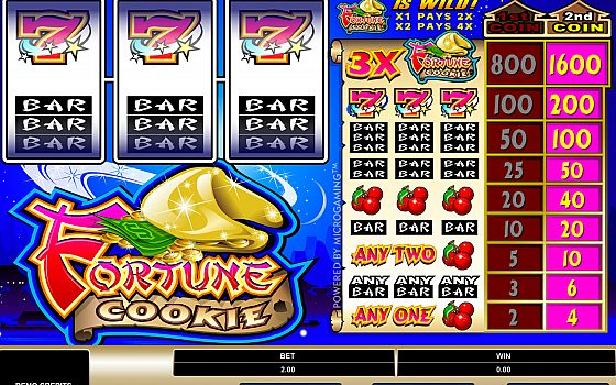 Fortune Cookie Slot Can Be Played Here With No Registration