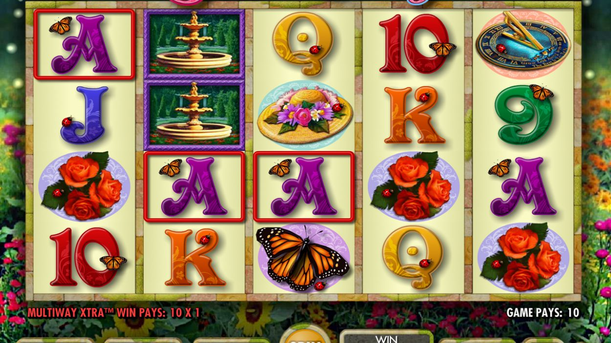 Garden Party slot game free demo