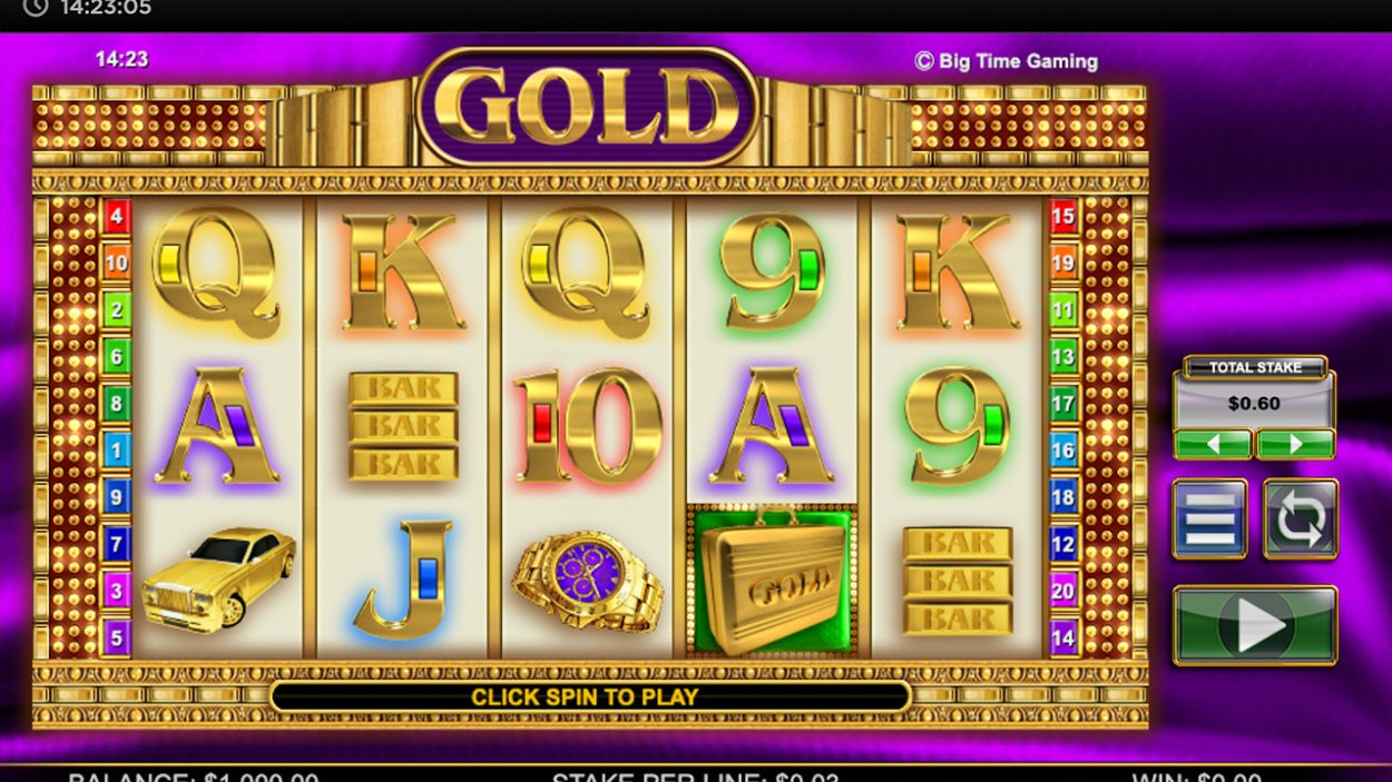 Gold slot demo image