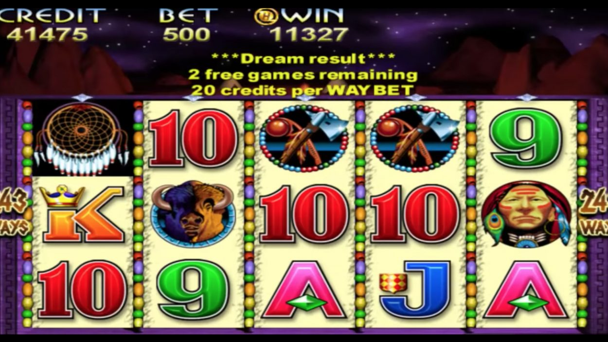 Indian Dreaming slot game