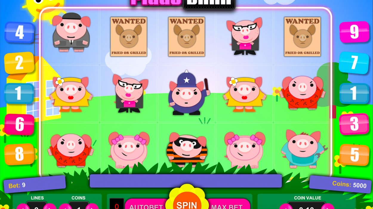 Piggy Bank slot game free demo
