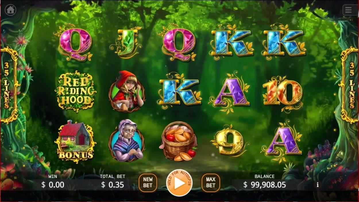 Red Riding Hood slot game free demo