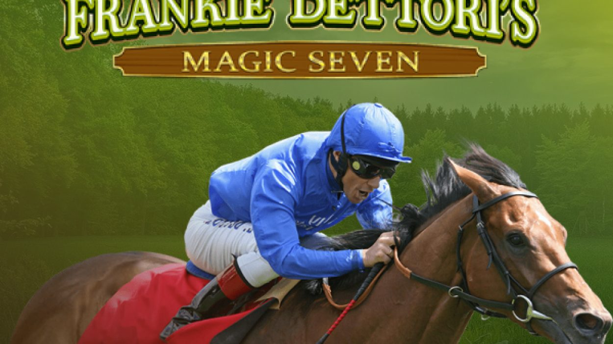 Frankie Dettori's Magic Seven Jackpot Screenshot